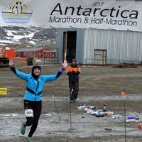 Beaver Dam resident finishes goal of running a marathon on every continent