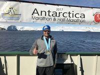 Madisonville Man Runs Antarctica