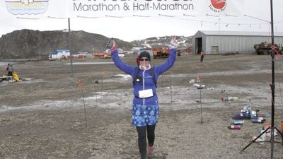 Marathon Runner Makes it to Antarctica