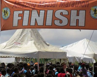 2017 Amazing Maasai Race Results