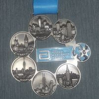 Finishing the World Marathon Majors