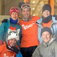 Training in -23C all part of Antarctica Marathon