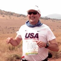 Marathon man Steve Neibergall completes 100th marathon in Kenya and now has run race  on all seven continents