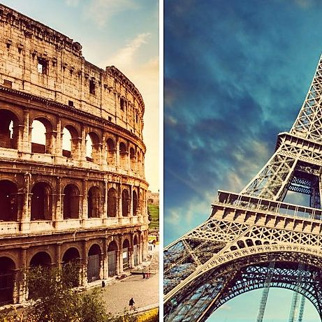 Rome and Paris Challenge