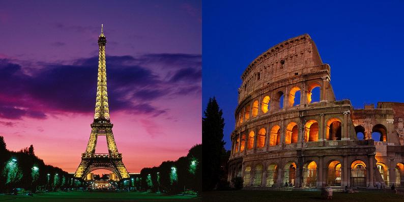 Rome and Paris Challenge