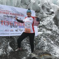 Solberg-Tapper completes marathon at Mount Everest