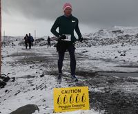 Coloradan runs and wins Antarctica Marathon to fulfill a promise to a little girl