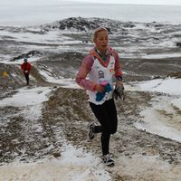 Girl's Mission in Dad's Memory Takes Her to the Antarctica Marathon