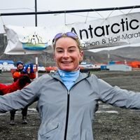 Alexandria's Brooke Curran on Winning the Antarctica Marathon
