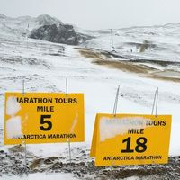 Antarctica Marathon Finishers Conquer Challenging, Changing Antarctic Conditions