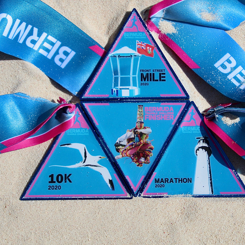 Royal Gazette Bermuda Triangle Challenge - Front Street Mile, 10K, Half-Marathon and Marathon