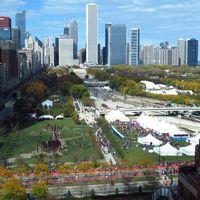 Racing & Spectating the Chicago Marathon