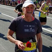 Marathoner goes coast-to-coast