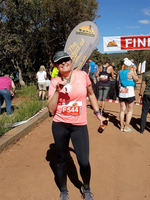 Three down, four to go: Virginia Beach woman aims to run a race on every continent