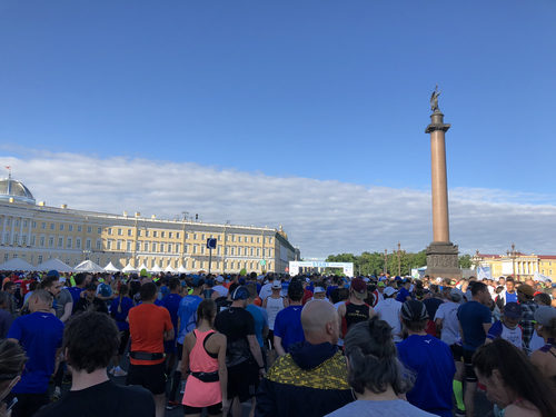 White Nights Marathon and 10K (St. Petersburg, Russia)