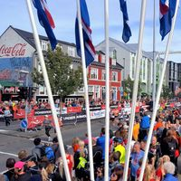 Record number of foreign runners in the Reykjavik Marathon