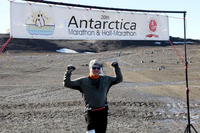 Pacha Outruns the Cold in Antarctica Marathon