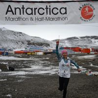 14-Year-Old is Youngest to Finish a Marathon on Antarctica